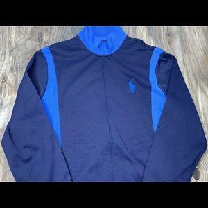 Polo Ralph Lauren blue full zip jacket size XL